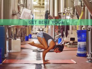 Get Bent | Brewery Yoga @ Hi-Wire Brewing Big Top | Asheville | North Carolina | United States