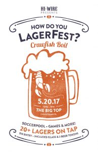 How Do You LagerFest & Crawfish Boil @ Hi-Wire Brewing Big Top | Asheville | North Carolina | United States