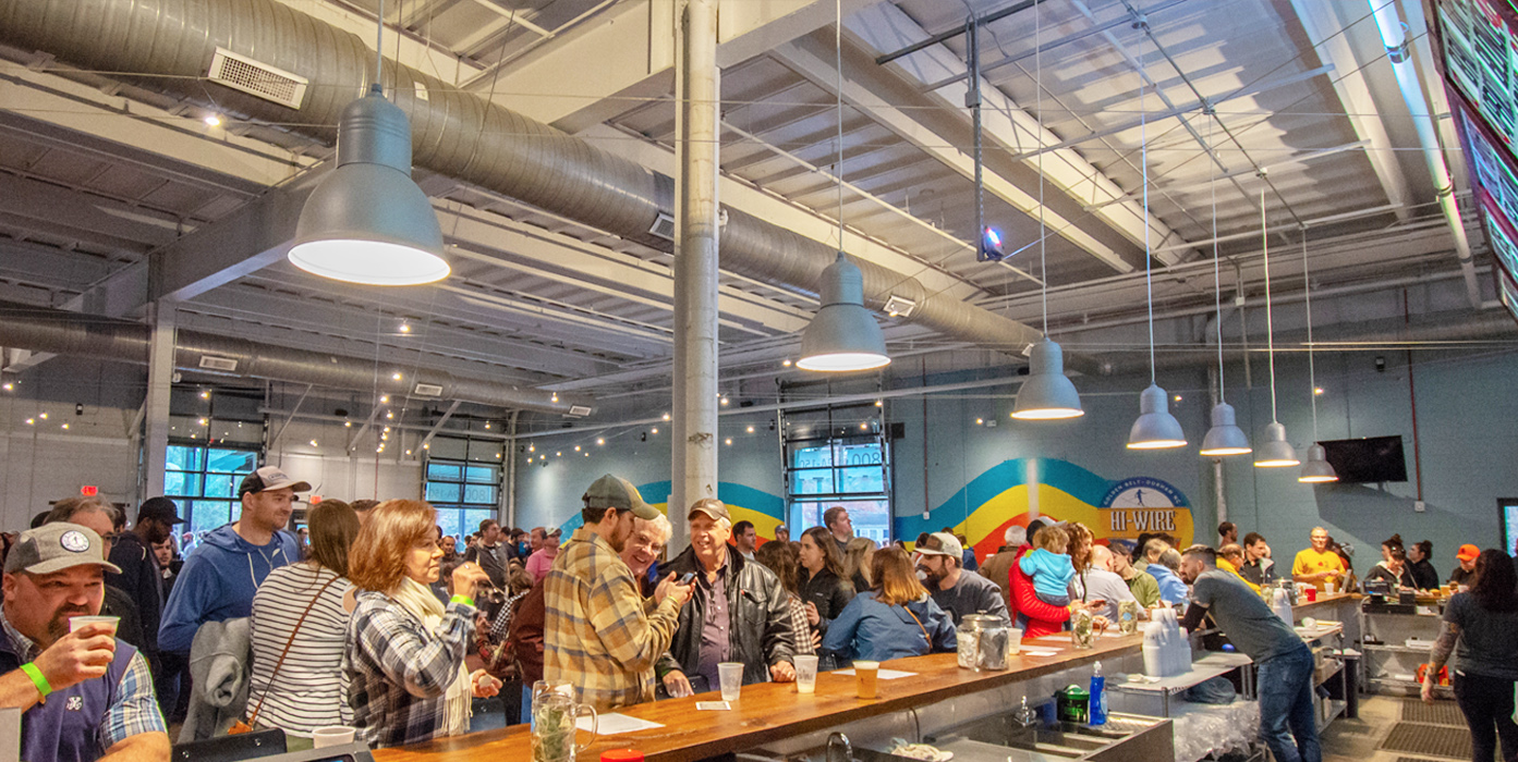 Rent Our Space - Golden Belt Durham, NC - Hi-Wire Brewing