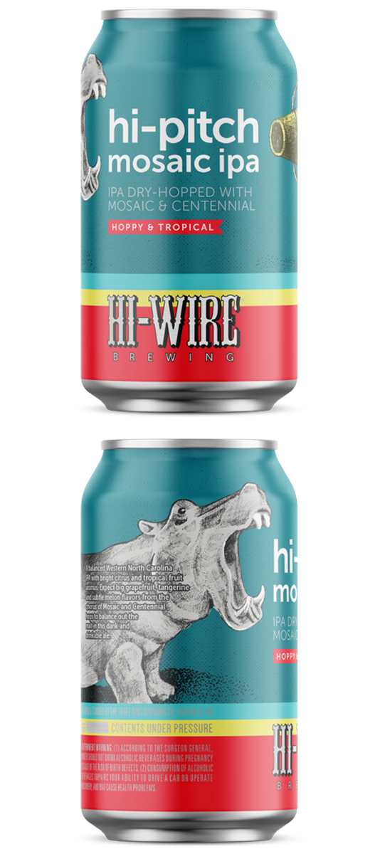 Hi-Wire Hi-Pitch IPA