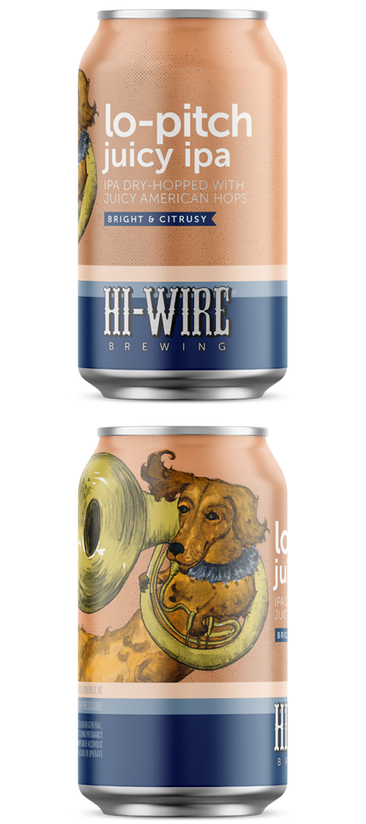 Hi-Wire Lo-Pitch IPA