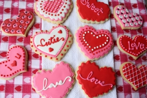 Valentine's Day Cookie Decorating with Three Eggs Cakery @ Big Top